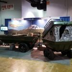 Tetra-Pod With Duck Blind at the Chicago Outdoor Show