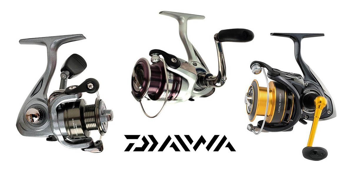 A guide to Daiwa spinning reels including strikeforce, crossfire and Laguna