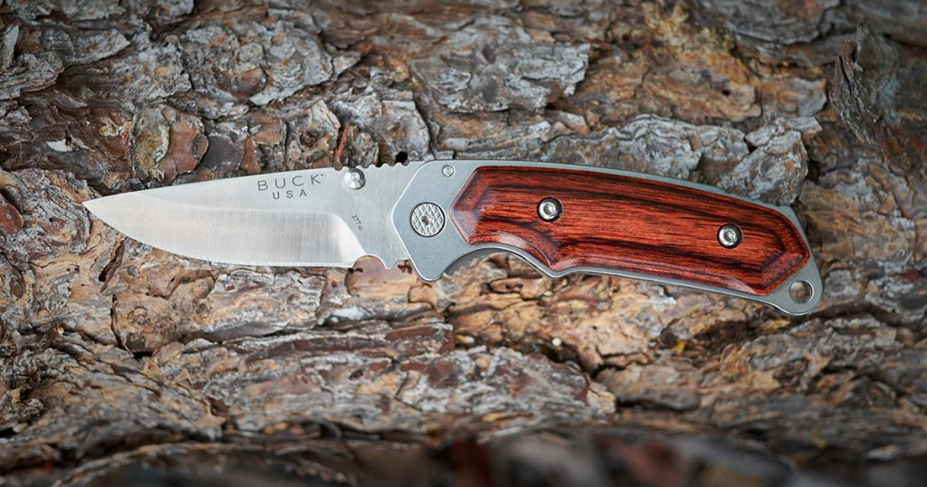 Buck Knives 277 Folding Alpha Hunter With Rosewood Handle Review