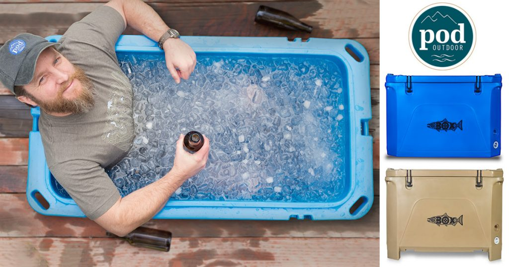 It is a large ices chest not a drunk redneck icebath.