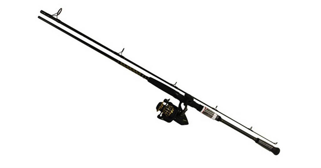 Fishing pole for disaster pack