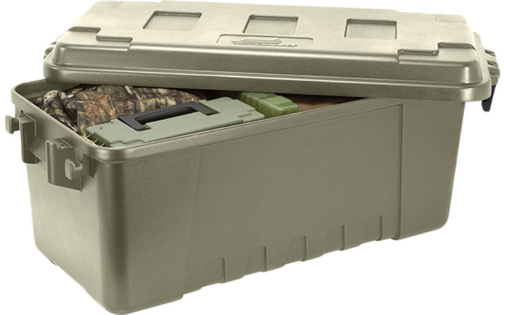 Sealed container for hunting clothes