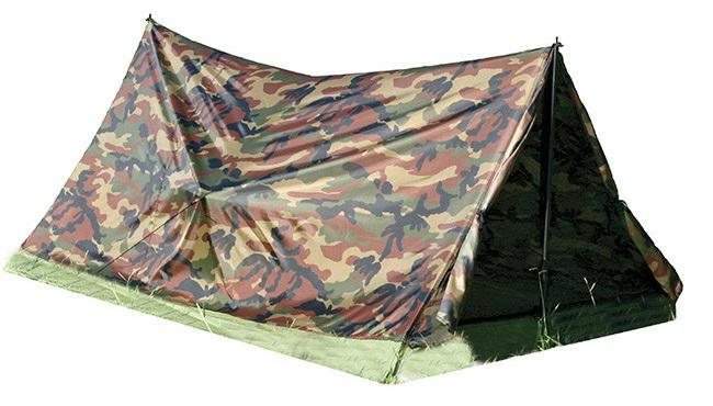 Single Person Camo Tent