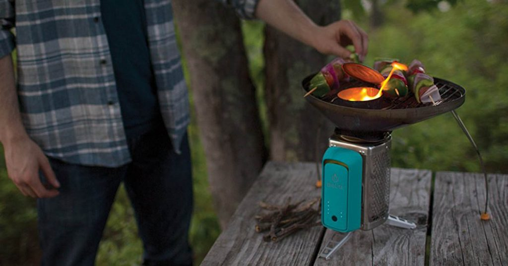 The Biolite CookStove is a truly innovative addition to the portable camp stove market.